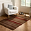 Thumbnail: Brown and Red Corn Stripe Rug