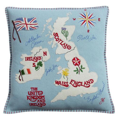 British Isles  Cushion