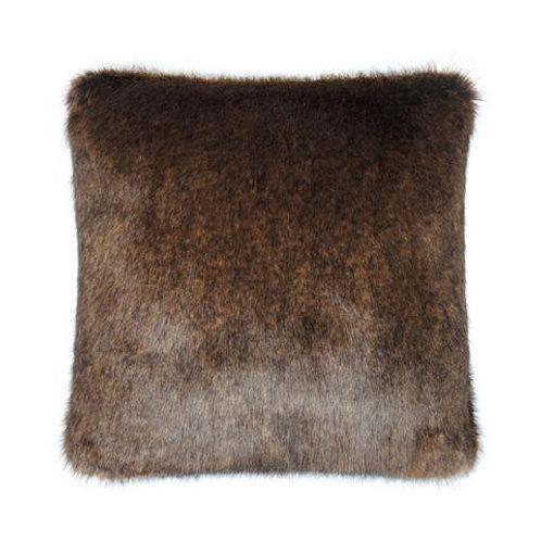 Golden Bear Faux Fur Cushion