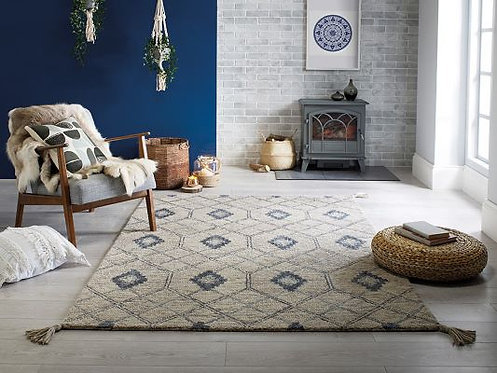 Nappe Diego Grey Traditional Rug