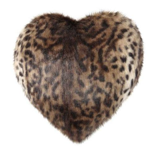 Ocelot Heart Cushion