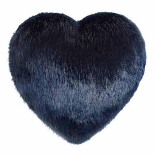 Midnight Heart Cushion