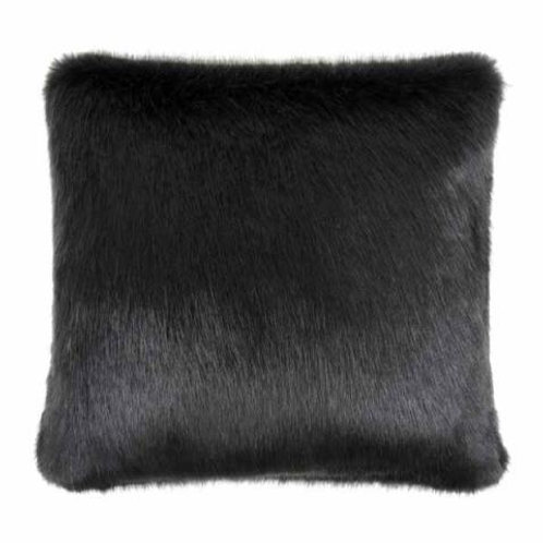 Charcoal Fur Cushion