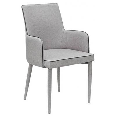 Knightsbridge dining chair light grey