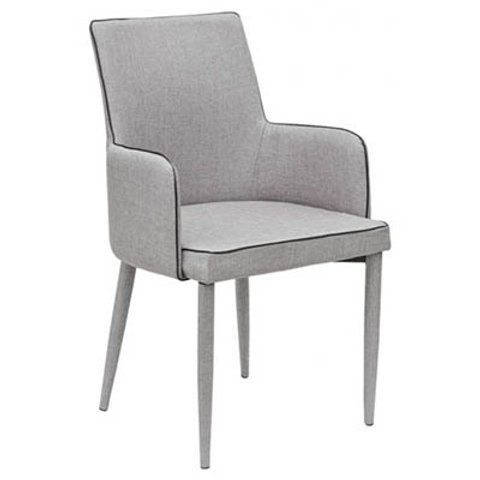 Knightsbridge dining chair light grey