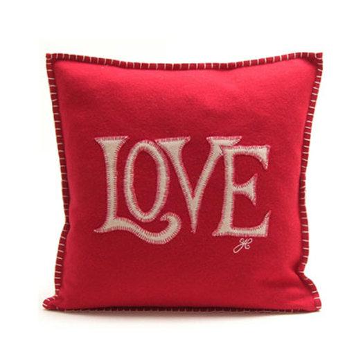 Love Cushion Red