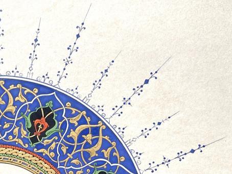 The magic of Islamic Illumination comes
