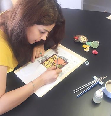 Anahita Alavi / Artist / Muqarnas Art