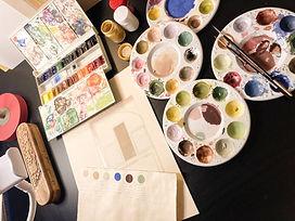 Anahita Alavi / Artist / Muqarnas Art / courses