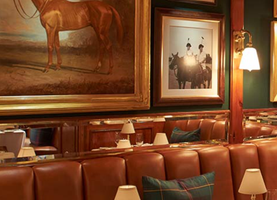 The Polo Bar by Ralph Lauren.