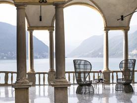 VILLA PLINIANA: Lago di Como para brindar o amor ;-)