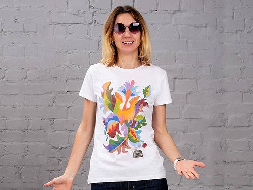 "T-Shirt Woman ""Trident"""