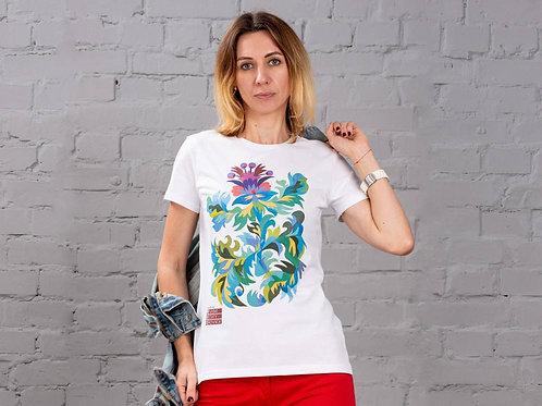 "T-Shirt Woman ""Thistle"""