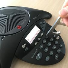 Téléphone main libre