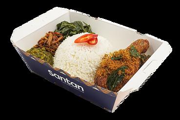 Nasi Padang Ayam Goreng Berempah