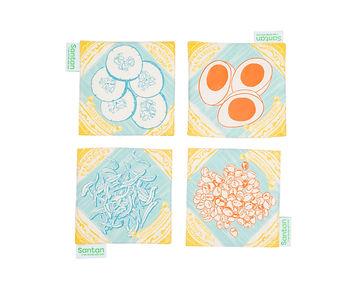 Pak Nasser's Nasi Lemak Coasters (Set of 4)