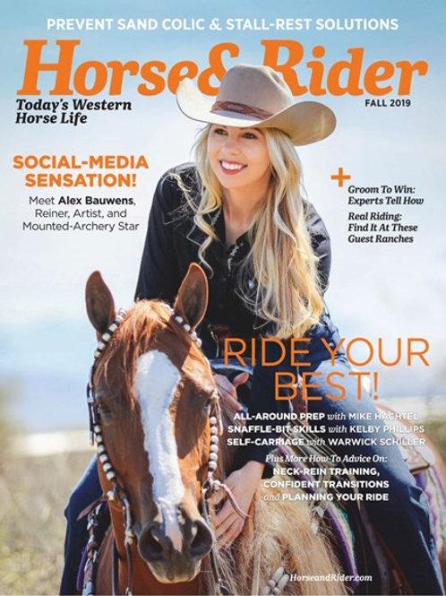 Horse & Rider - Digital