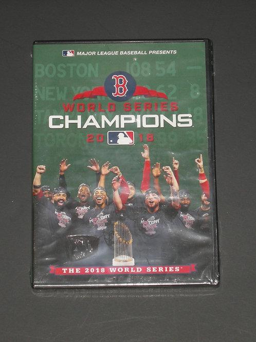 2018 MLB World Series      Boston Red Sox     DVD