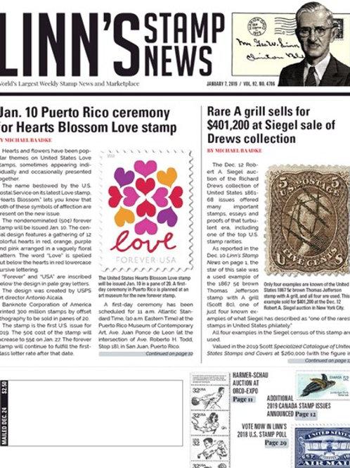 Linn's Stamp News - Digital