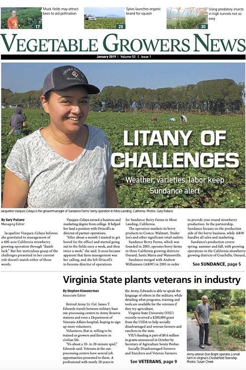 Vegetable Growers News - Digital