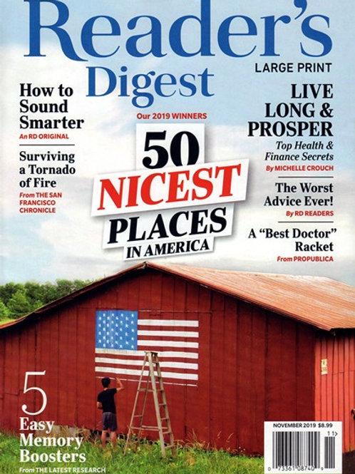 Reader's Digest - Large Print