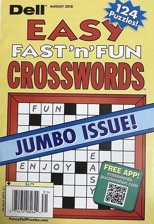Dell Easy Fast 'N' Fun Crosswords