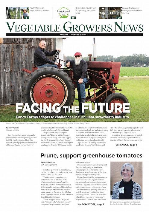 Vegetable Growers News