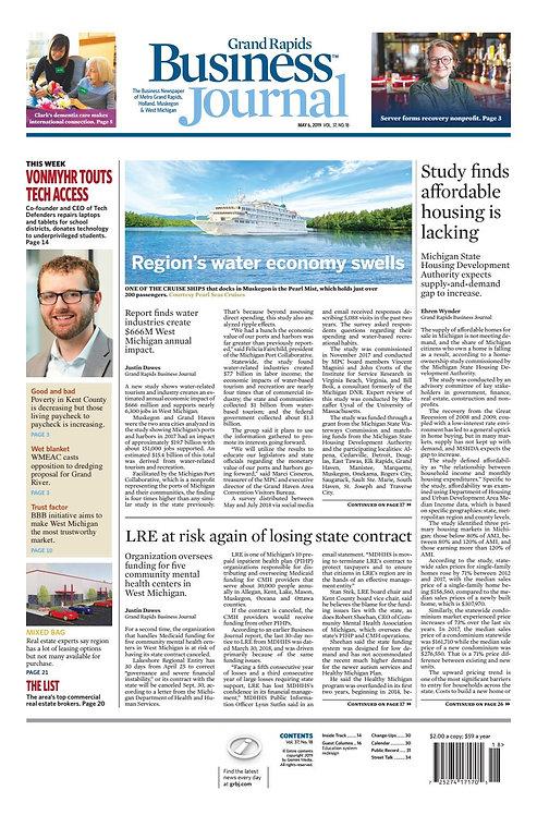 Grand Rapids Business Journal - Digital