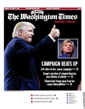 Washington Times National Weekly