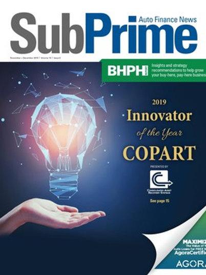 SubPrime Auto Finance News