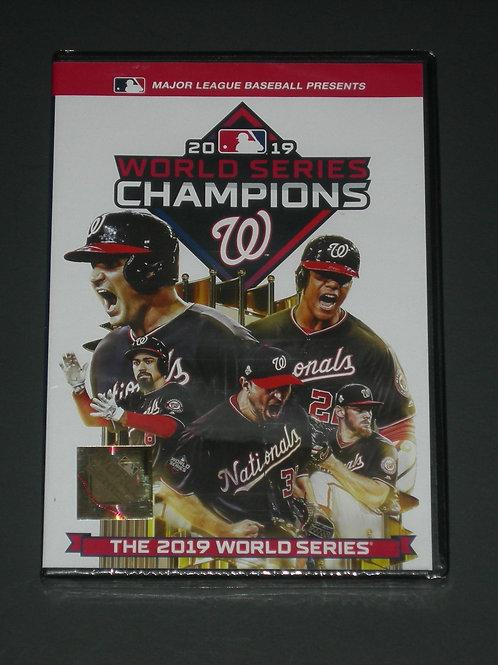 2019 MLB World Series Washington Nationals     DVD