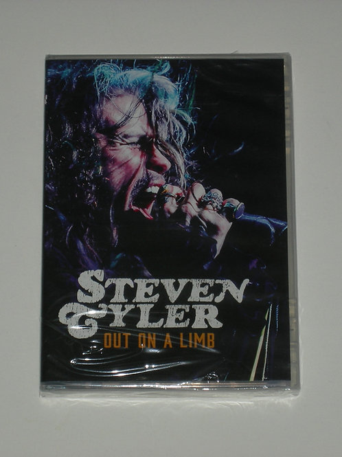 Steven Tyler of Aerosmith Out On A Limb DVD
