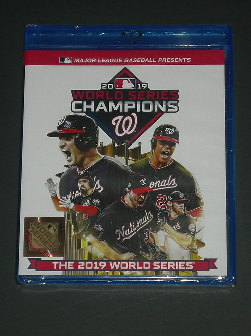 2019 MLB World Series Washington Nationals BLU