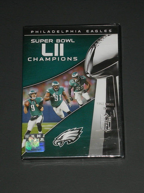 NFL Super Bowl (LII) Philadelphia Eagles DVD