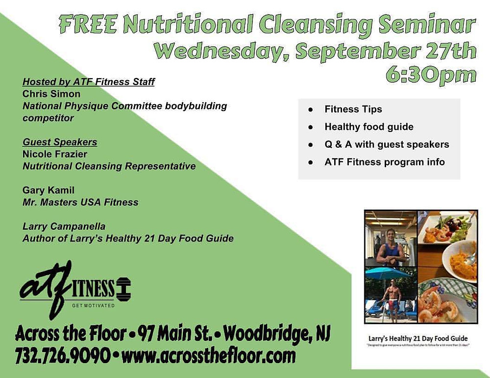 FREE Nutritional Cleansing Seminar!