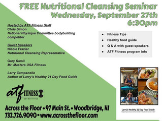 FREE Nutritional Cleansing Seminar