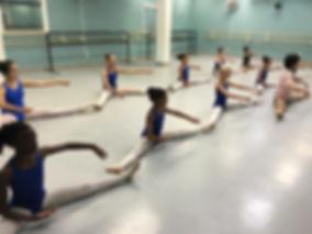 Ballet class training