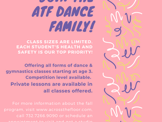 JOIN THE ATF DANCE FAMILY TODAY!