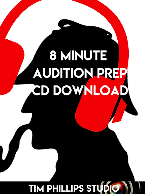 CD Download: 8 Minute Audition Prep