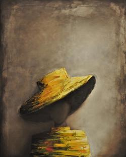 Girl with yellow hat_Sonja Riemer Art