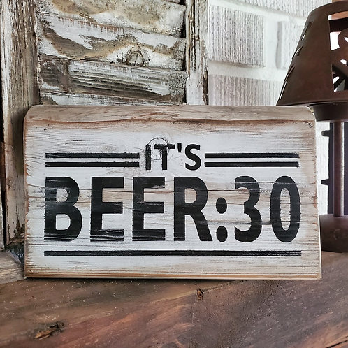 It's Beer :30