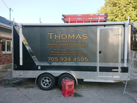 Thomas Contracting Trailer