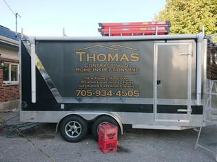 Thomas Contracting Trailer