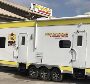HB Cycle trailer