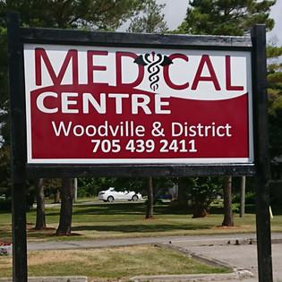 Woodville Medical sign