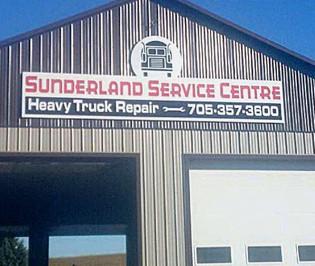 Sunderland Service sign