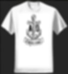 Mens and womens 'Through the storm' anchor design Tshirts