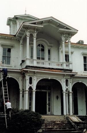 Mansion Front Steps
