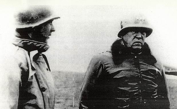 Elbert S. Jemison, Jr. & General George Patton