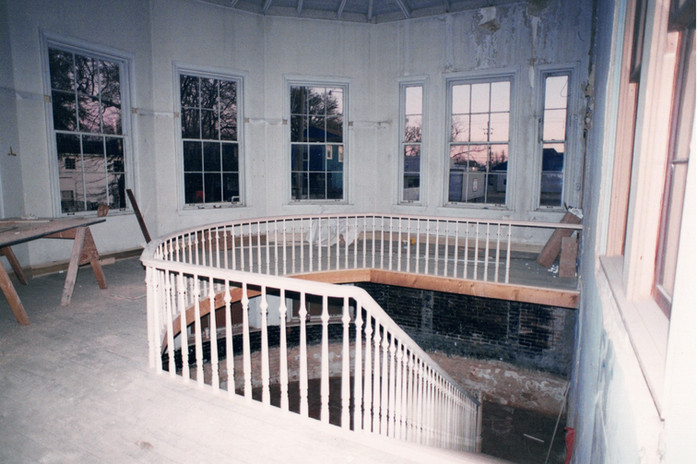 Conservatory During Reconstruction